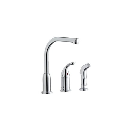 Elkay Everyday Single Handle Deck Mount Kitchen Faucet