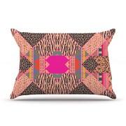 KESS InHouse New Wave Zebra Pillow Case; King