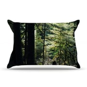 KESS InHouse Enchanted Pillow Case; King