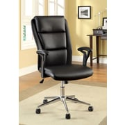 Hokku Designs Ravi High-Back Leatherette Executive Chair w/ Arms
