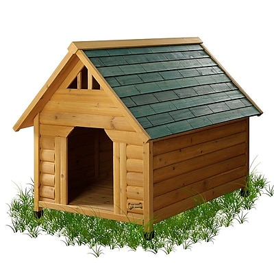 Pet Squeak Alpine Lodge Dog House; Large