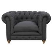 TOV Oxford Chair; Grey