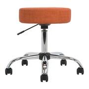 Versa Tables Medical Height Adjustable Task Stool; Shade Orangeade