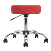 Versa Tables Medical Height Adjustable Task Stool; Shade Red