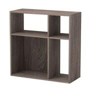 Homestar 30'' Cube Unit Bookcase; Sonoma