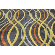 Rug Factory Plus Transition Hand-Tufted Charcoal Area Rug