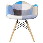 eModern Decor Patchwork Armchair