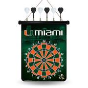 Rico NCAA Magnetic Dart Board; Miami Hurricanes