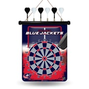 Rico NHL Magnetic Dart Board; Columbus Blue Jackets
