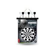 Rico NFL Magnetic Dart Board; Oakland Raiders