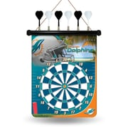 Rico NFL Magnetic Dart Board; Miami Dolphins