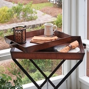 ParkDesignsSplitP 2  Piece Tray Table Set