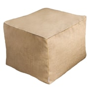 Core Covers Sunbrella Outdoor/Indoor Pouf Ottoman; Sailcloth Space