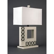 Bungalow Belt The Engagement 28.5'' H Table Lamp w/ Rectangular Shade