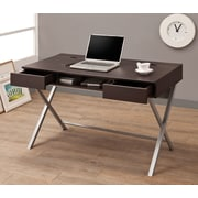 Wildon Home   Contemporary Computer Desk; Cappuccino