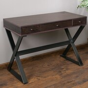 Home Loft Concepts Beverly Writing Desk w/ 3 Drawers