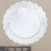 Wholesale Interiors Baxton Studio Bonham Round Wall Mirror