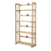 Wildon Home   46'' Etagere Bookcase; Natural