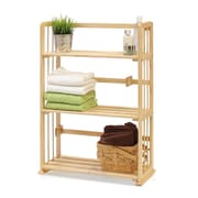 Wildon Home   34'' Standard Bookcase; Natural