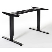 Swedstyle Quadro Height Adjustable Desk with Memory Controller; Black