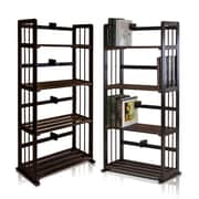Wildon Home   46.9'' Etagere Bookcase; Espresso