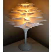 CaliforniaLighting Noble Spark Lotus Flower 17.7'' Table Lamp