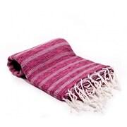 Buldano Istanbul Turkish Bath Towel; Pink