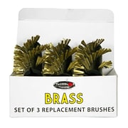 Grillbot 3 Piece Brass Replacement Brushes