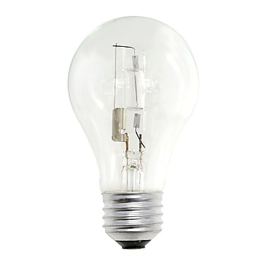 Bulbrite HAL A19 53W Dimmable Clear 2900K Warm White 8PK (115052)