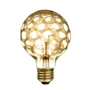 Bulbrite INC G25 40W Dimmable Marble Amber 4PK (144025)