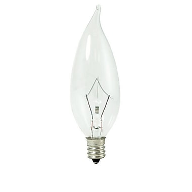 Bulbrite KRY CA10 40W Dimmable Clear 2700K Soft White 10PK (460340)