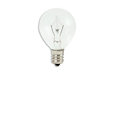 25 Watt Bulbrite® Krystal Touch® G11 Clear E12 Krypton Decorative Bulb (60-Pack), Cool White