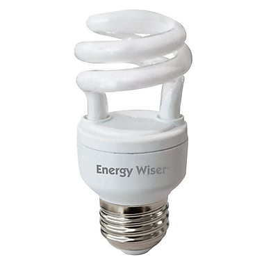 Bulbrite CFL T2 5W 2700K Warm White 3PK (509206)
