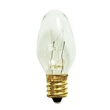 Bulbrite INC C7 4W Dimmable Clear 2700K Warm White 25PK (709104)