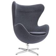 Fine Mod Imports Inner Chair Fabric, Gray (FMI1129-gray)