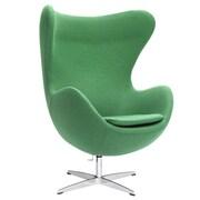 Fine Mod Imports Inner Chair Fabric, Green (FMI1129-green)
