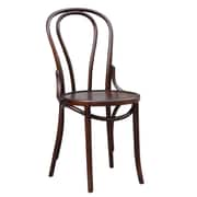 Fine Mod Imports Oldanao Dining Chair, Brown (FMI10173-brown)