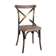 Fine Mod Imports Porch Dining Chair, Copper (FMI10231-copper)
