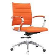 Fine Mod Imports Sopada Conference Office Chair Mid Back, Orange (FMI10077-orange)