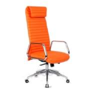 Fine Mod Imports Ox Office Chair High Back, Orange (FMI10178-orange)