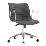 Fine Mod Imports Comfy Office Chair Mid Back, Black (FMI10224-black)