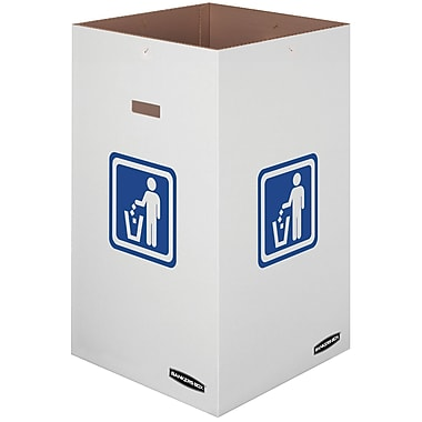 Bankers Box® Waste and Recycling Bin, 42 Gallon, 10/Pack