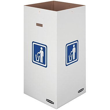 Bankers Box® Waste and Recycling Bin, 50 Gallon, 10/Pack