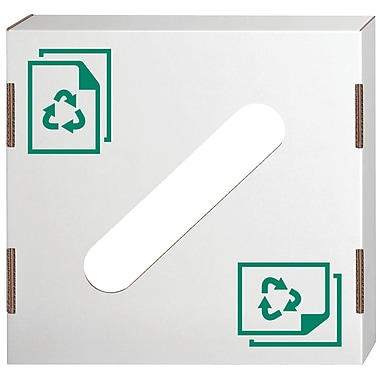Bankers Box® Waste and Recycling Lid, Paper, 10/Pack