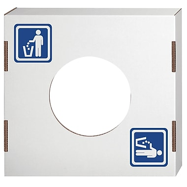 Bankers Box® Waste and Recycling Lid, Waste, 10/Pack