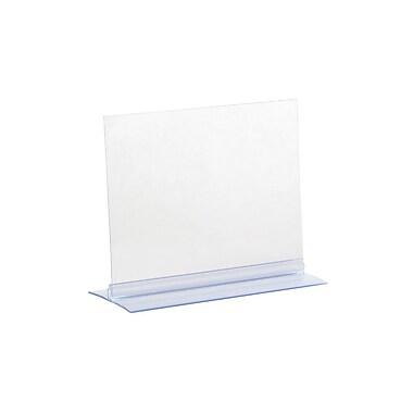 KostklipMD – Porte-affiche T-Style, 5,5 x 7 po, transparent, 25/paquet (102 T-100110)