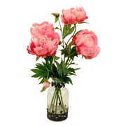 LCGFlorals Peonies in Glass Jar