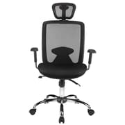 Merax High-Back Mesh Office Chair with Headrest and Lumbar Support Reclining