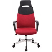 Merax High-Back Office Chair with Headrest