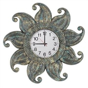 RAM Game Room Outdoor Oversized 24'' Sun Wall Clock